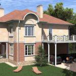 Как создать красивый фасад с балконом