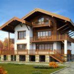 Как создать красивый фасад трехэтажного дома