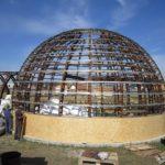 Как создать круглый фасад