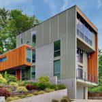 Как выбрать стиль фасада четырехэтажного дома