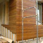 Красивый деревянный фасад