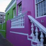 Красивый фиолетовый фасад