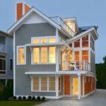 Красивый серый цвет фасада