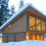 Односкатная крыша создает привлекательный фасад дома
