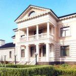 Офорлмение фасада с балконом
