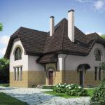 Оформление дома с помощью белых фасадных панелей