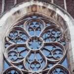 Оригинальные круглын окна фасада