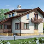 Отделка современного дома белыми панелями снаружи