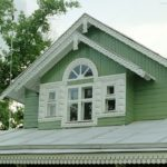 Оттенок фасада бирюзового цвета