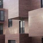 Популярный и оригинальный деревянный фасад