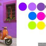 Пример фиолетового фасада