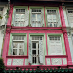 Пример розового красивого фасада