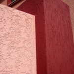 Пример розового практичного фасада