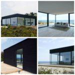 Примеры современных фасадов в черном цвете