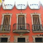 Приятный оттенок оранжевого фасада