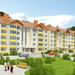 Проект красивого фасада пятиэтажного дома
