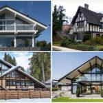 Различные варианты фасада с панорамой