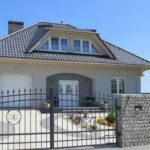 Серый цвет современного фасада