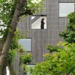 Создаем фасад, имеющий квадратные окна