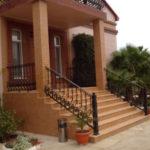 Создаем фасад с лестницей