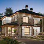 Создаем фасад с террасой