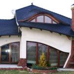 Создаем фасад с треугольными окнами