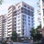 Создание фасада десятиэтажного дома