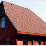 Трехскатная крыша для обустройства фасада