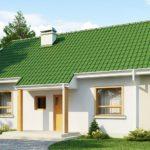 Красивые фасады с двускатной крышей