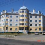 Вариант фасада пятиэтажного дома