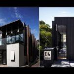 Вертикальные панели черного цвета для фасада