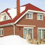 Вид трехскатной крыши для оформления фасада