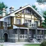 Выбираем фасад трехэтажного дома