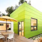 Зеленые панели для фасада
