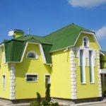 Желтый фасад