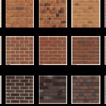 Оттенки коричневого цвета для создания фасадной плитки