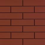 Плитка на основе клинкера красного цвета для фасада
