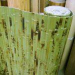 Стильные бамбуковые обои для стен