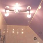 Какое освещение выбрать для ванной комнаты?