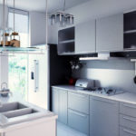 Оформляем кухню в стиле хай-тек