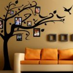 Дерево на стене: интересные идеи для оформления