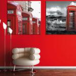 Красный цвет в интерьере: правила сочетаний