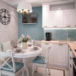 Как визуально увеличить пространство маленькой кухни
