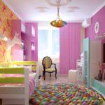 Дизайн интерьера для детской: интересные идеи