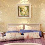 Выбираем обои для спальни: виды, цвет, фото