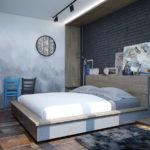 Идеи для обустройства стен в спальне