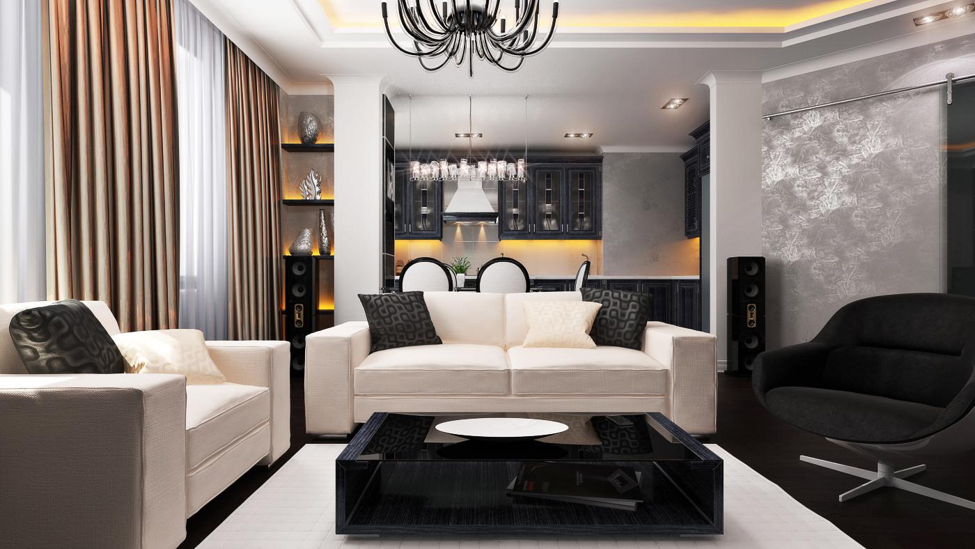 как оформить гостиную в стиле модерн советы профессионалов