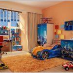 Детская комната для мальчика 3 лет, идеи по оформлению