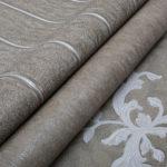 Текстильные обои: виды и структура