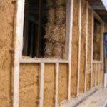 Преимущества стен из соломенных блоков